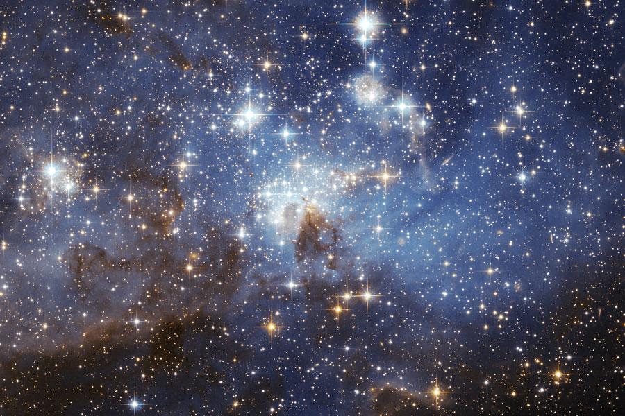 Región de formación estelar LH 95