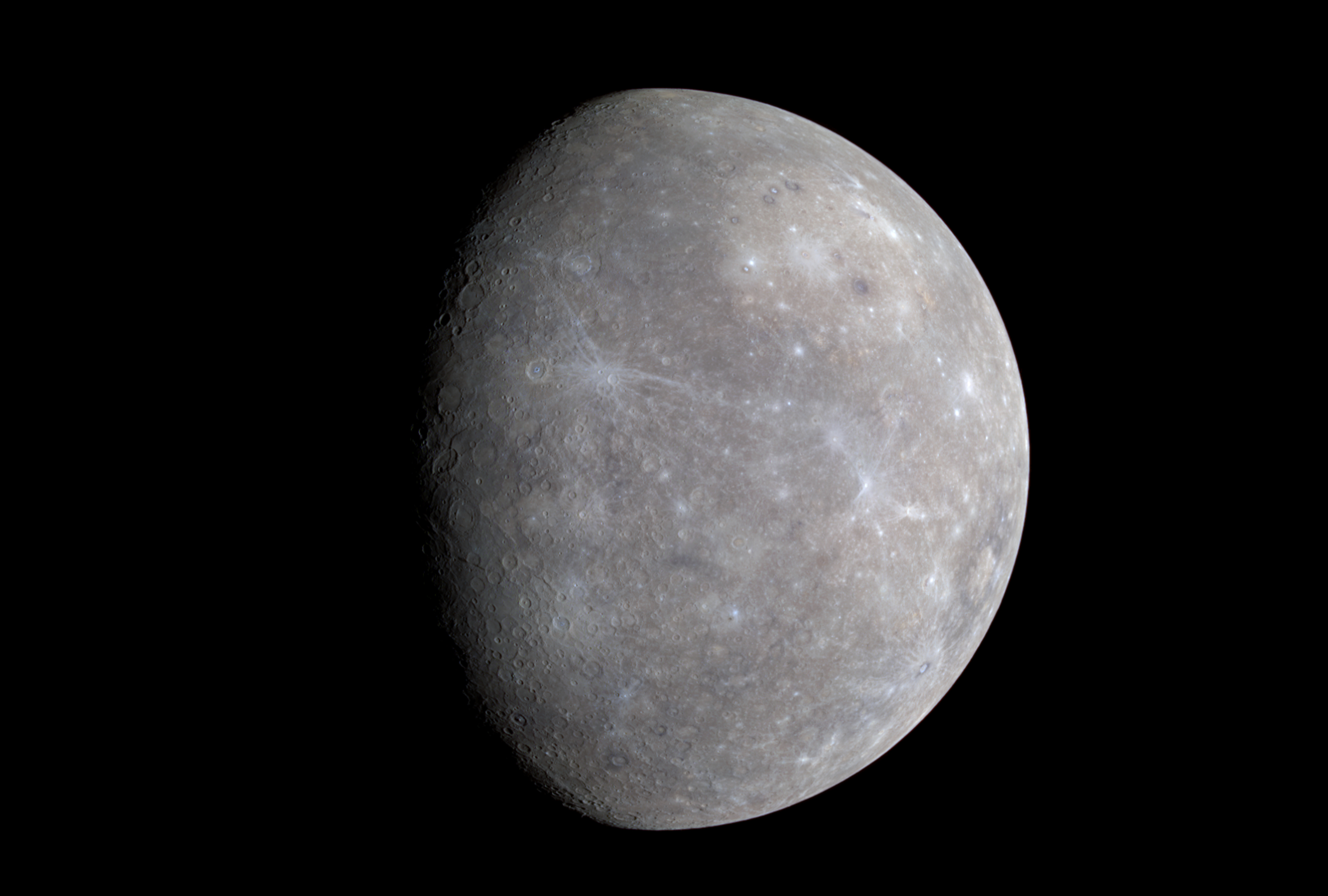 The Colors of Mercury | Lights in the Dark