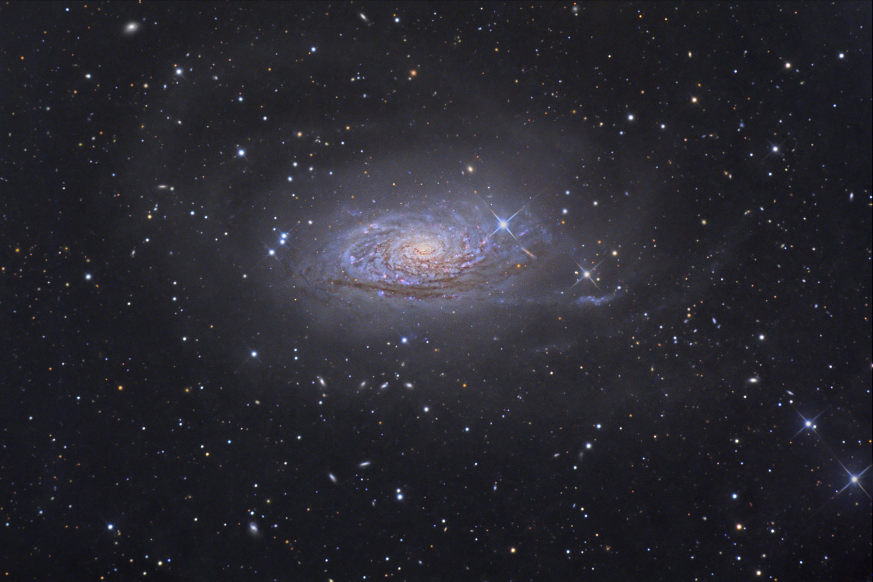 m63 'Sunflower Galaxy'