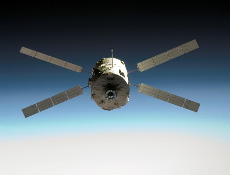 Julio Verne en órbita