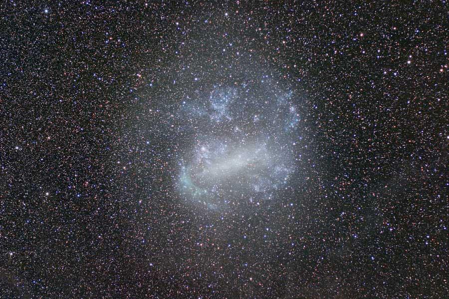 La Gran Nube de Magallanes en campo profundo