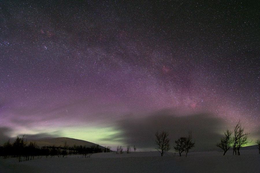 Maravillas celestiales en Suecia
