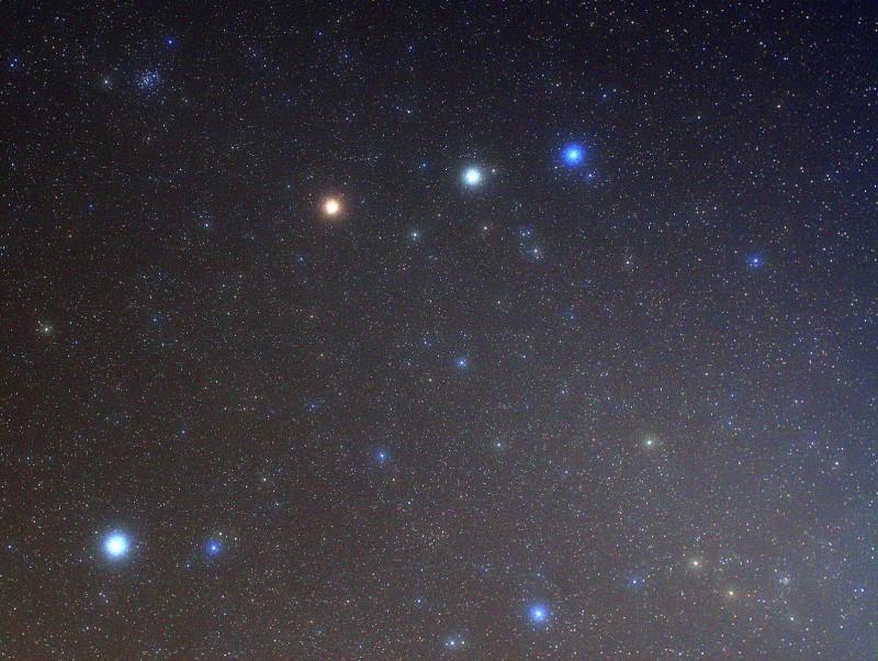 Estrellas y Marte