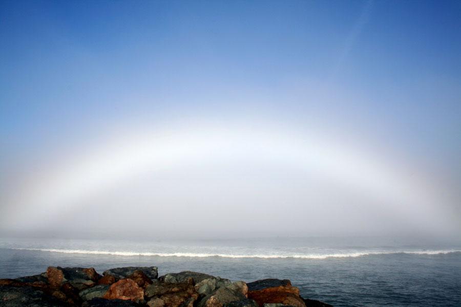 Arco Blanco sobre Ocean Beach