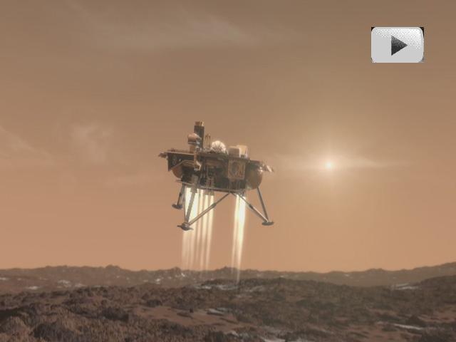 Phoenix llega a Marte