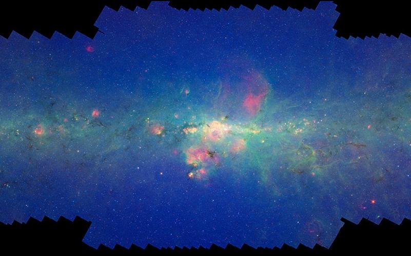 La Vía Láctea del Spitzer
