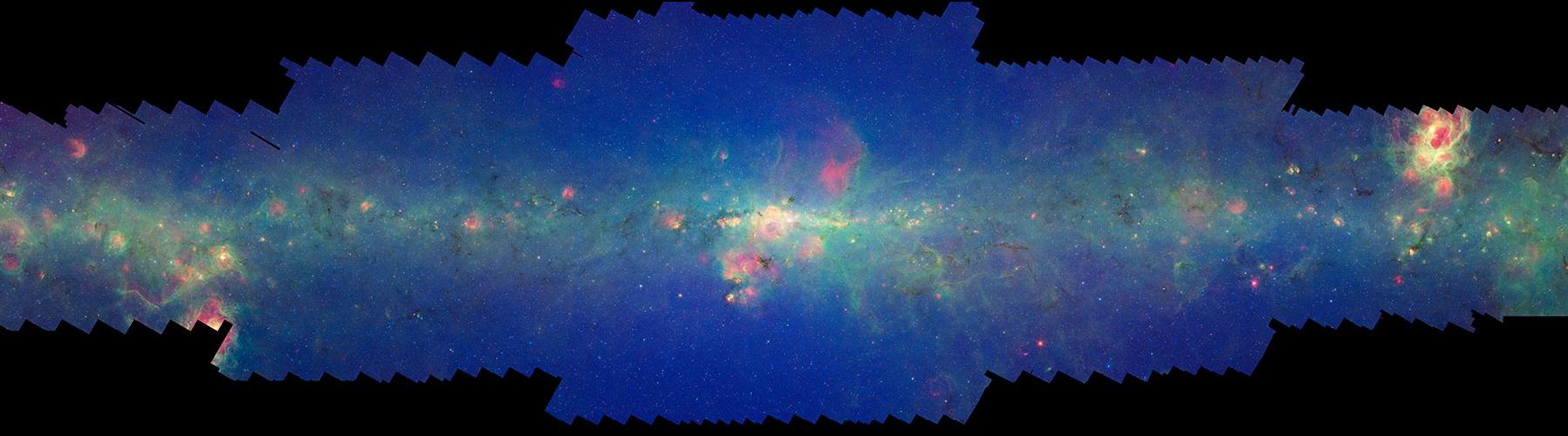 Apod 2008 June 5 Spitzer S Milky Way
