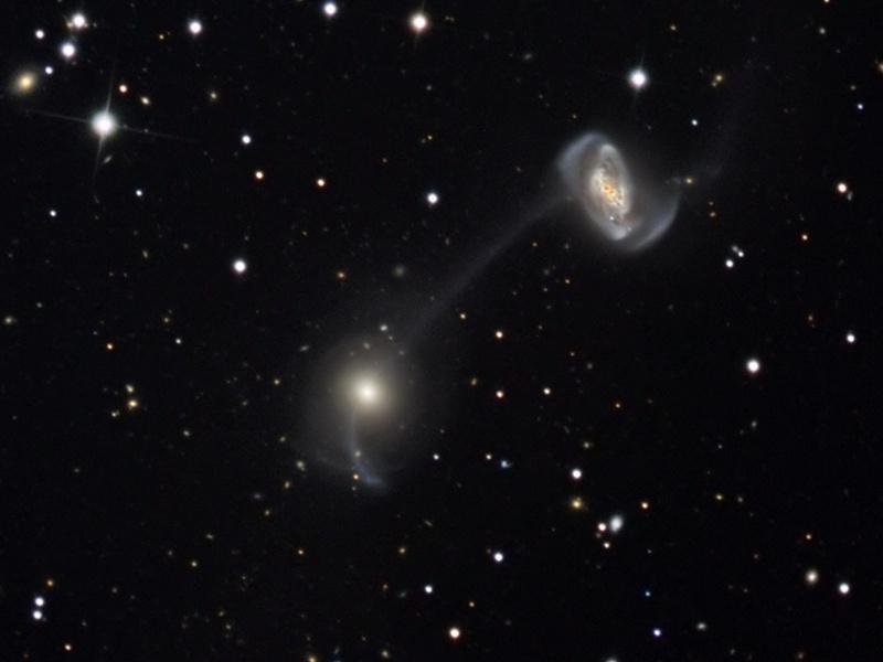 Galaxias en una cuerda