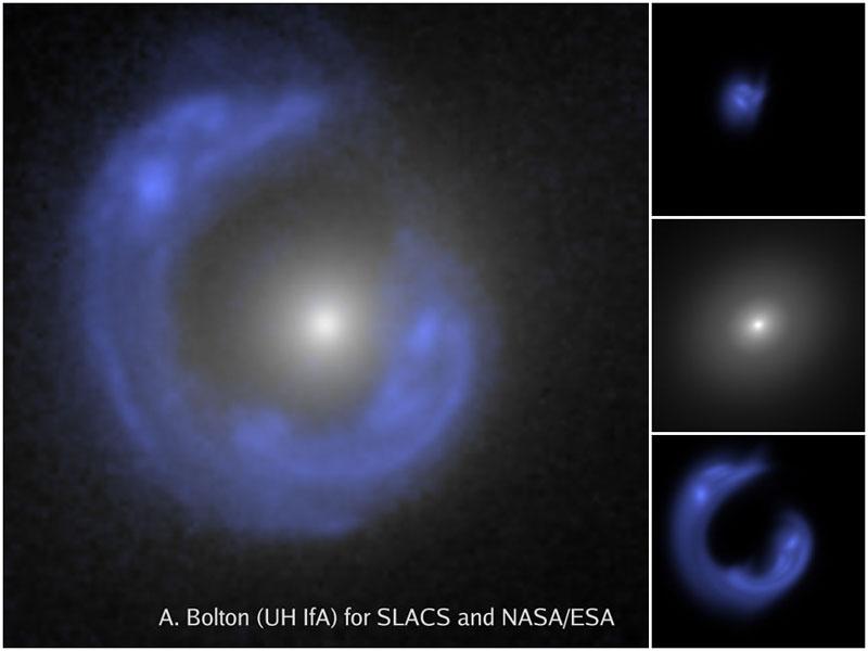 SDSSJ1430: Una galaxia Anillo de Einstein
