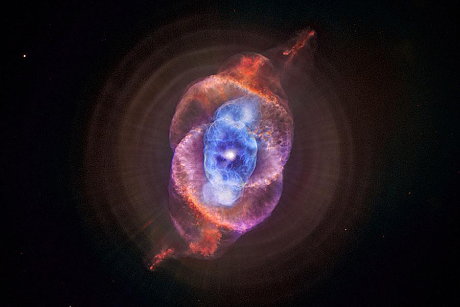 Rayos X desde la Nebulosa del Ojo de Gato