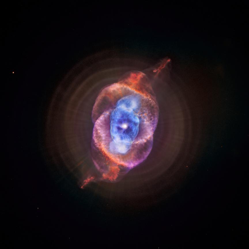 Resultado de imagen de Nebulosa planetaria ojo de Gato en Observatorio