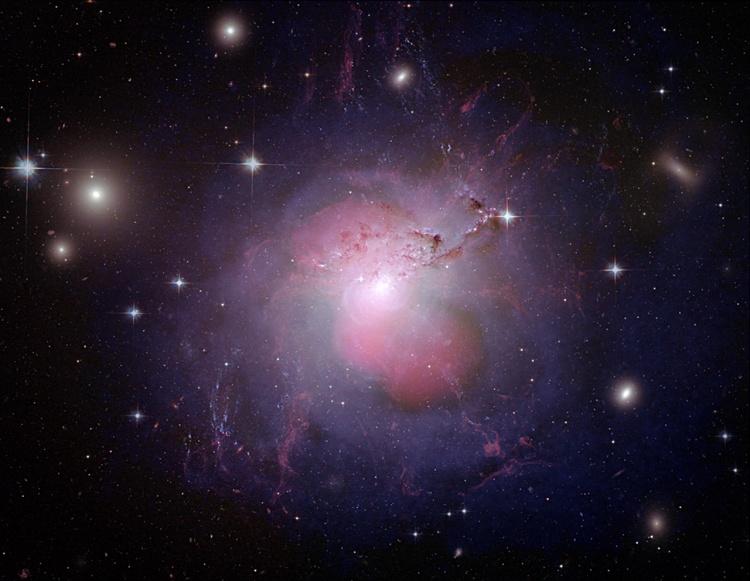 La galaxia activa NGC 1275