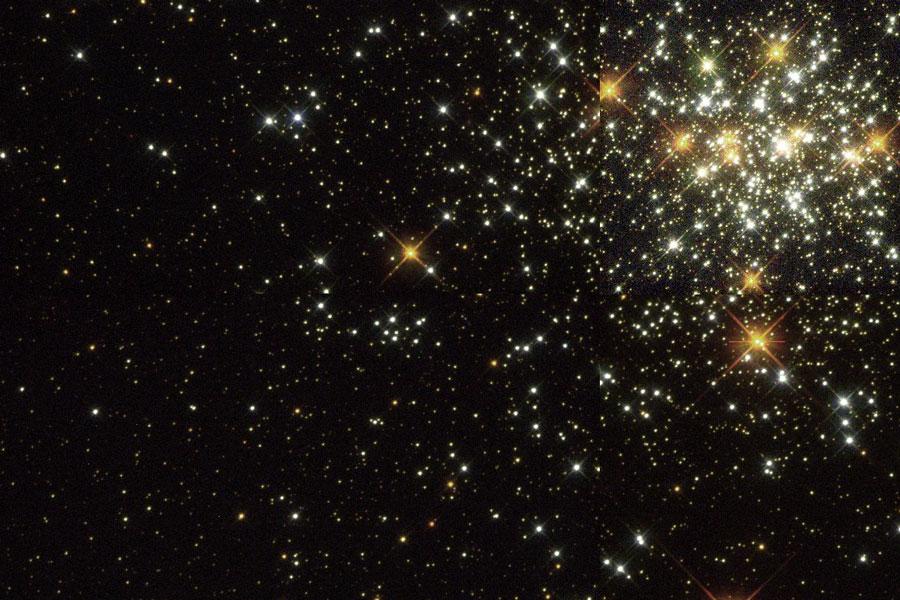 NGC 1818: un joven cúmulo globular