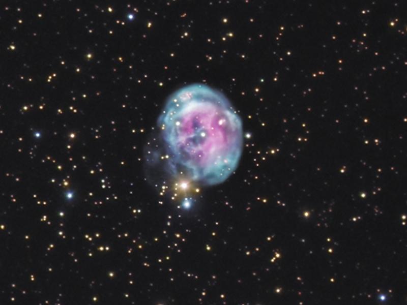 NGC 7008: La Nebulosa del Feto