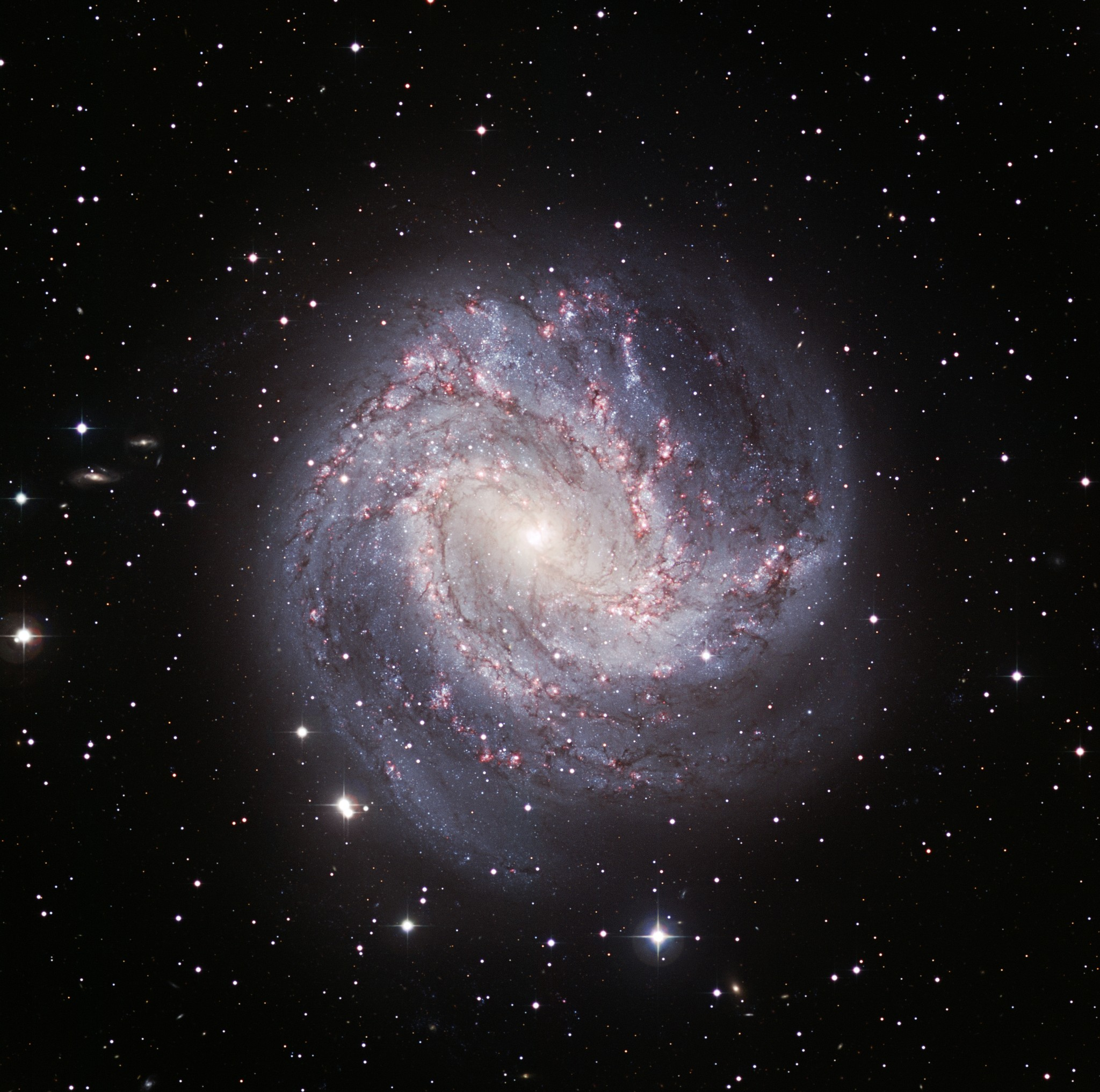 The Thousand Ruby Galaxy (M83)