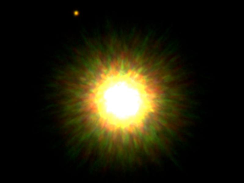 Compañero de una jóven estrella como el Sol