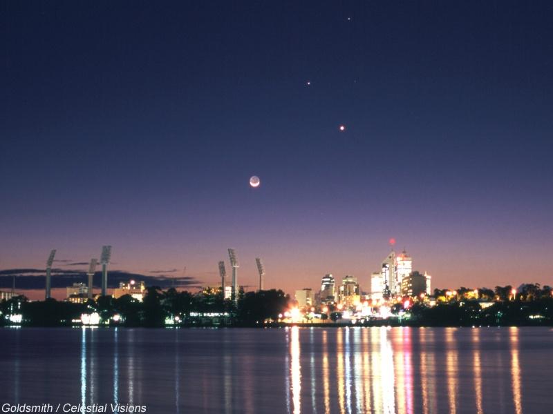 Planetas sobre Perth