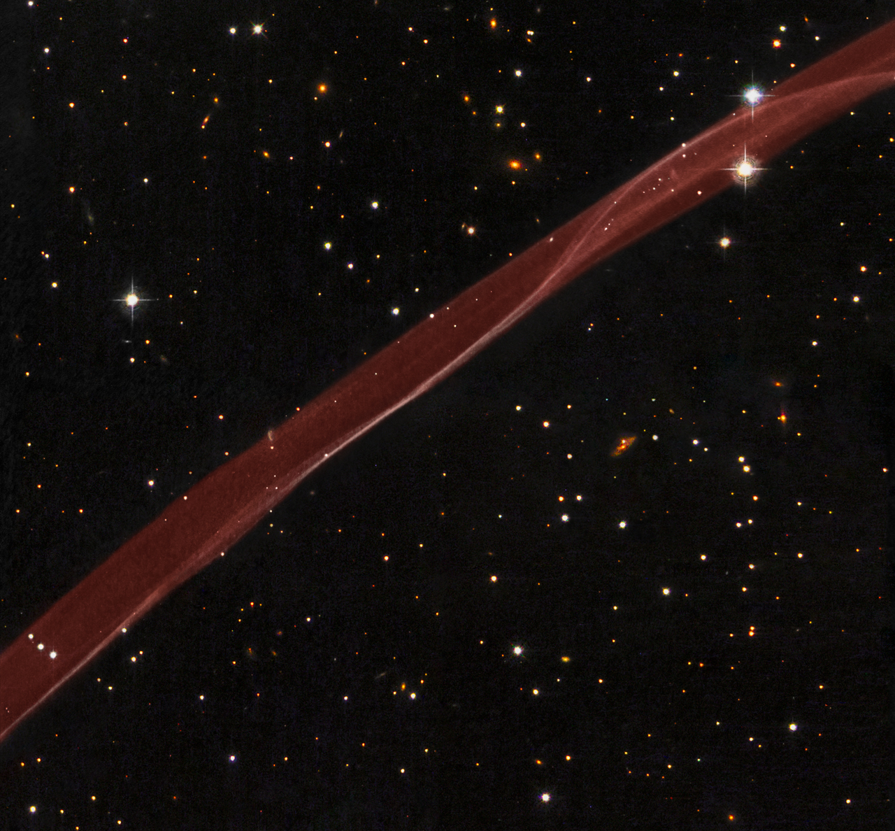 Apod 2008 September 15 Sn 1006 A Supernova Ribbon From