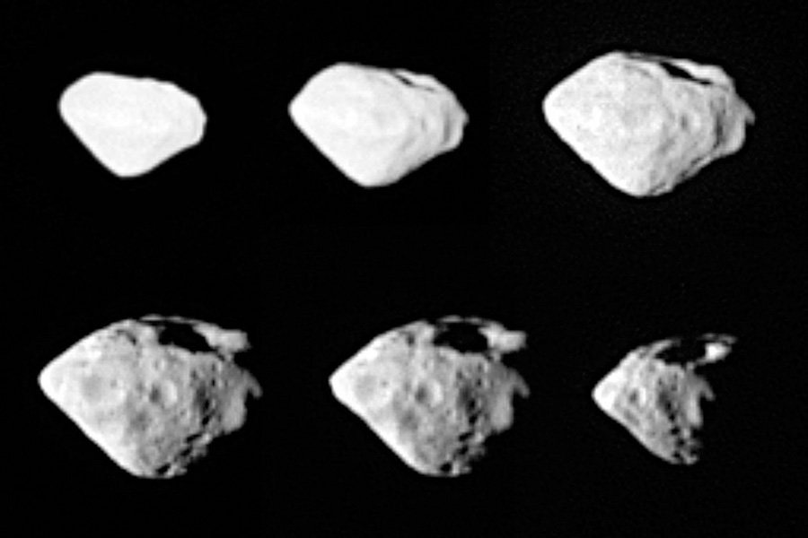 La Sonda Rosetta pasa cerca del asteroide Steins