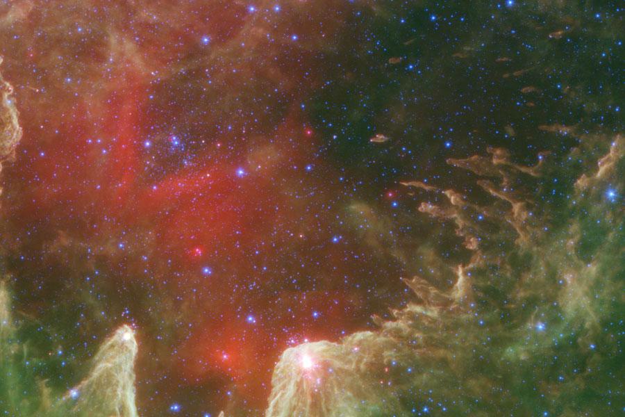 W5: Pilares de creación estelar