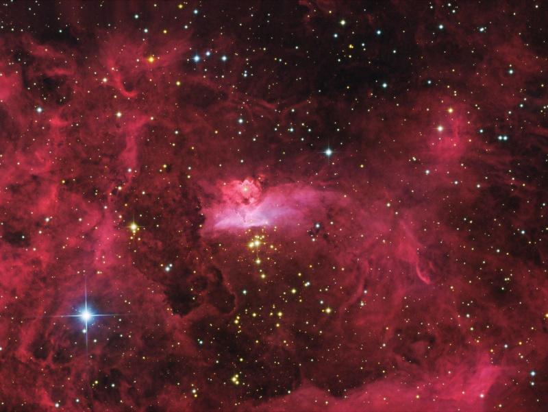 Estrellas Masivas en NGC 6357