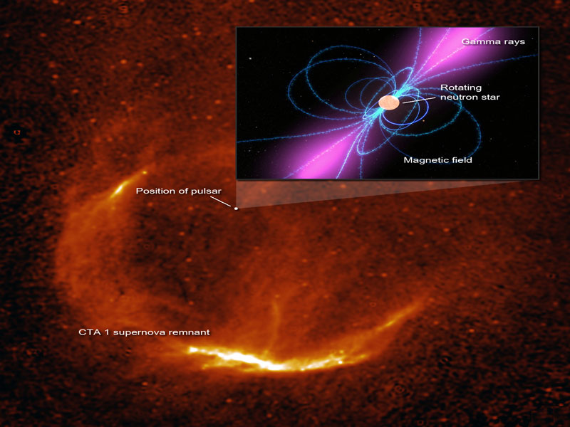 Un pulsar oscuro en CTA 1