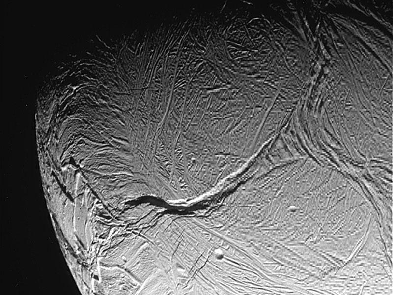 Un raya tigre desde la Cassini