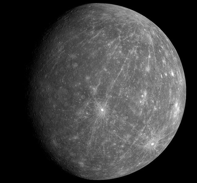 Mercurio revelado por la MESSENGER