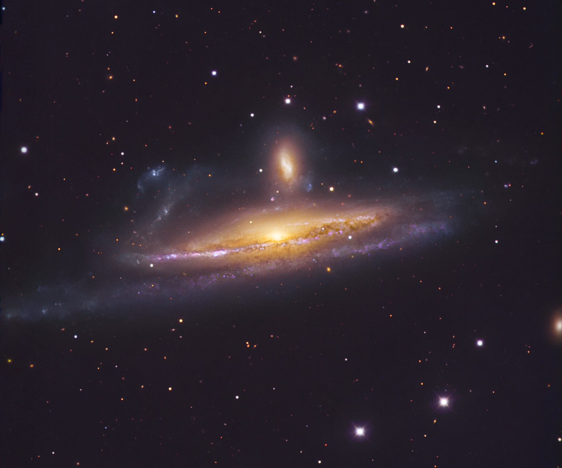 APOD: 2008 November 27 - Galaxies in the River