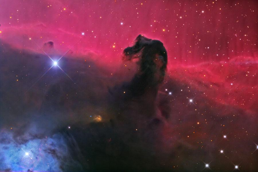 La nebulosa de la Cabeza del Caballo en Orión