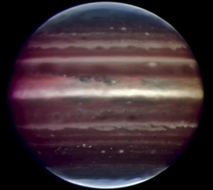 Una vista más definida del gigante nebuloso