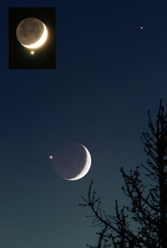 Venus en la Luna