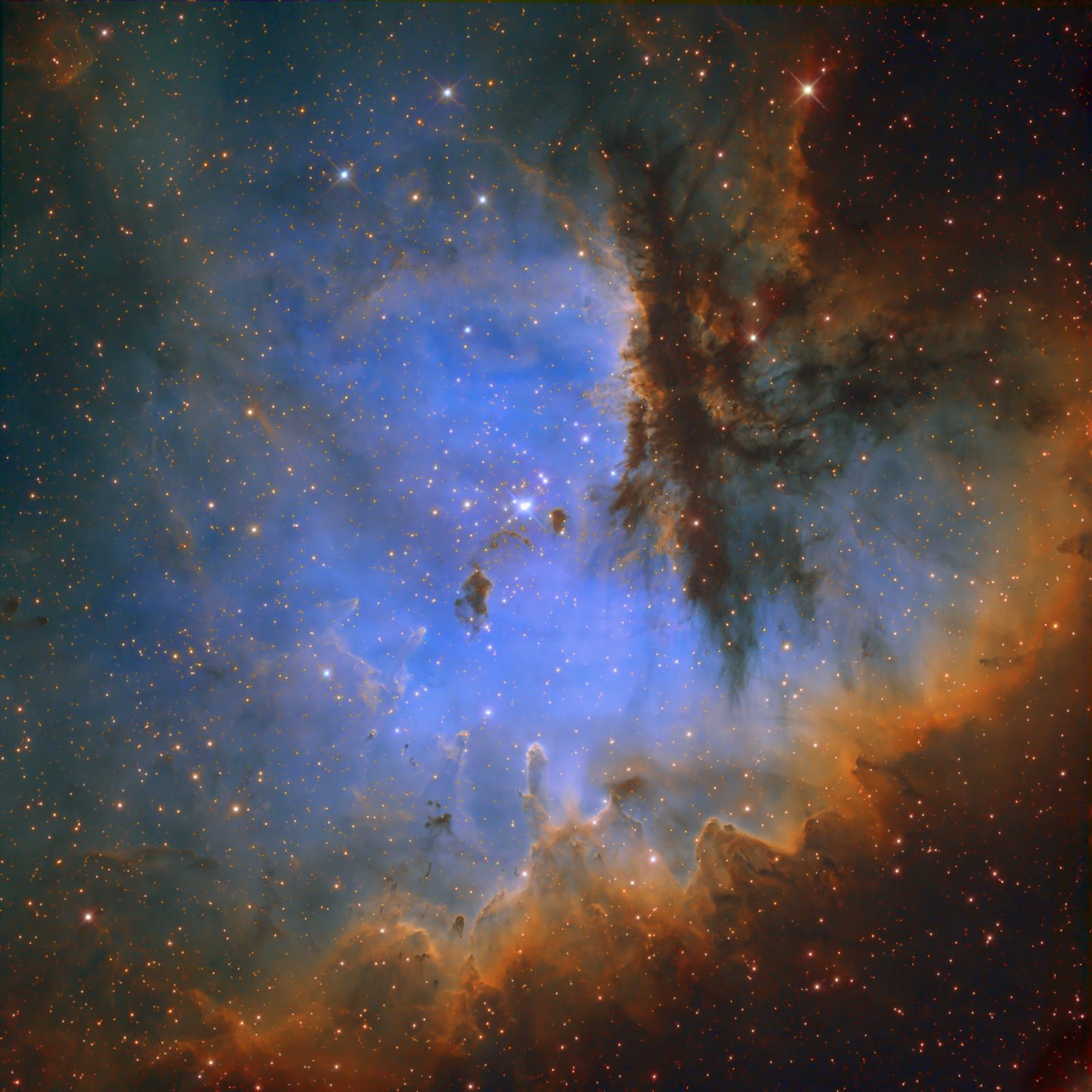 カシオペヤ座の散光星雲NGC 281