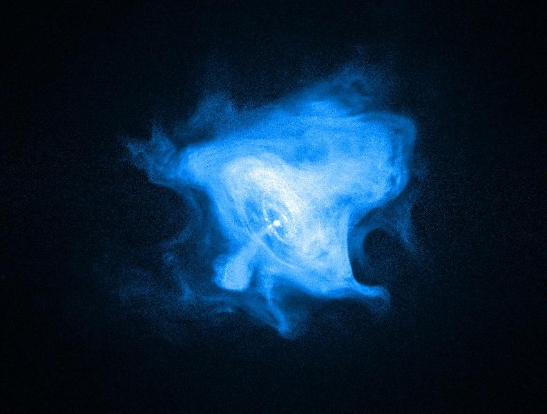 Nebulosa de viento del púlsar del Cangrejo