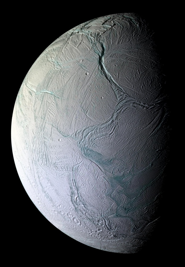Labtayt Sulci en Encelado de Saturno