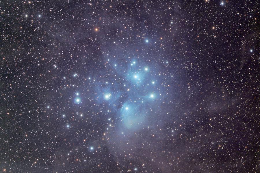 M45: El cúmulo de estrellas de las Pléyades