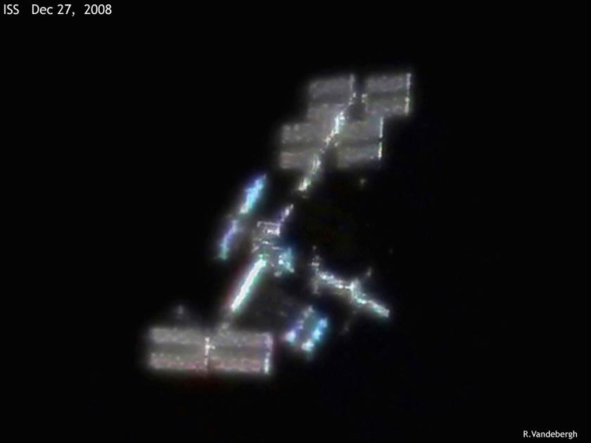 ISS: Reflejos de la Tierra
