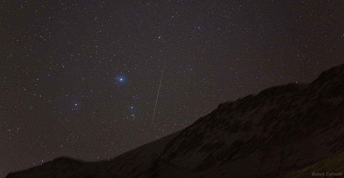 Cometa y Meteoro