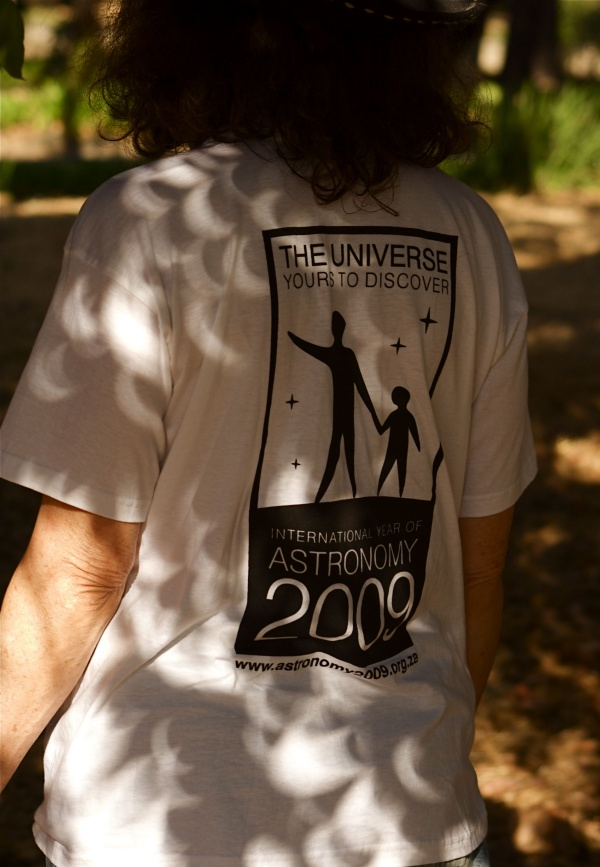 Camiseta del Eclipse 2009