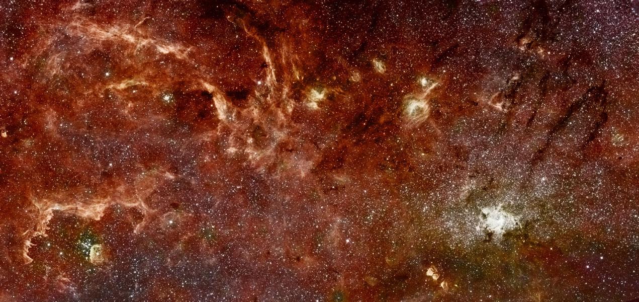 El Núcleo Galáctico en Infrarrojo