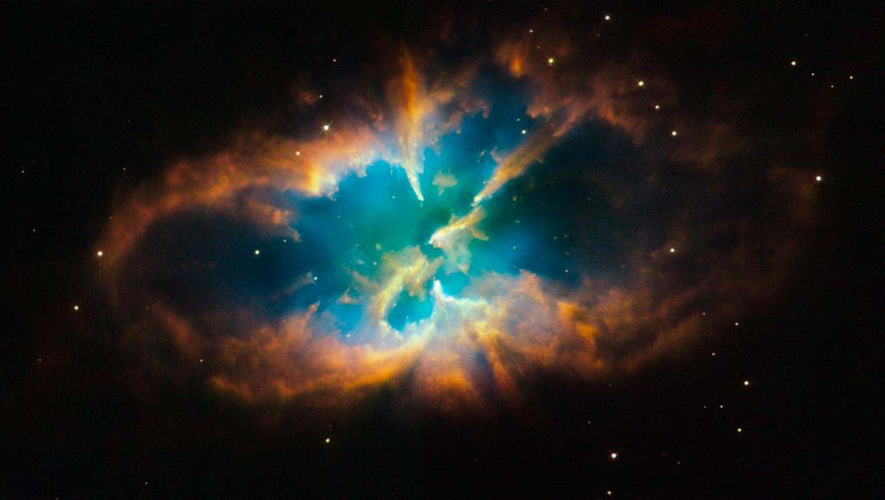 らしんばん座の惑星状星雲