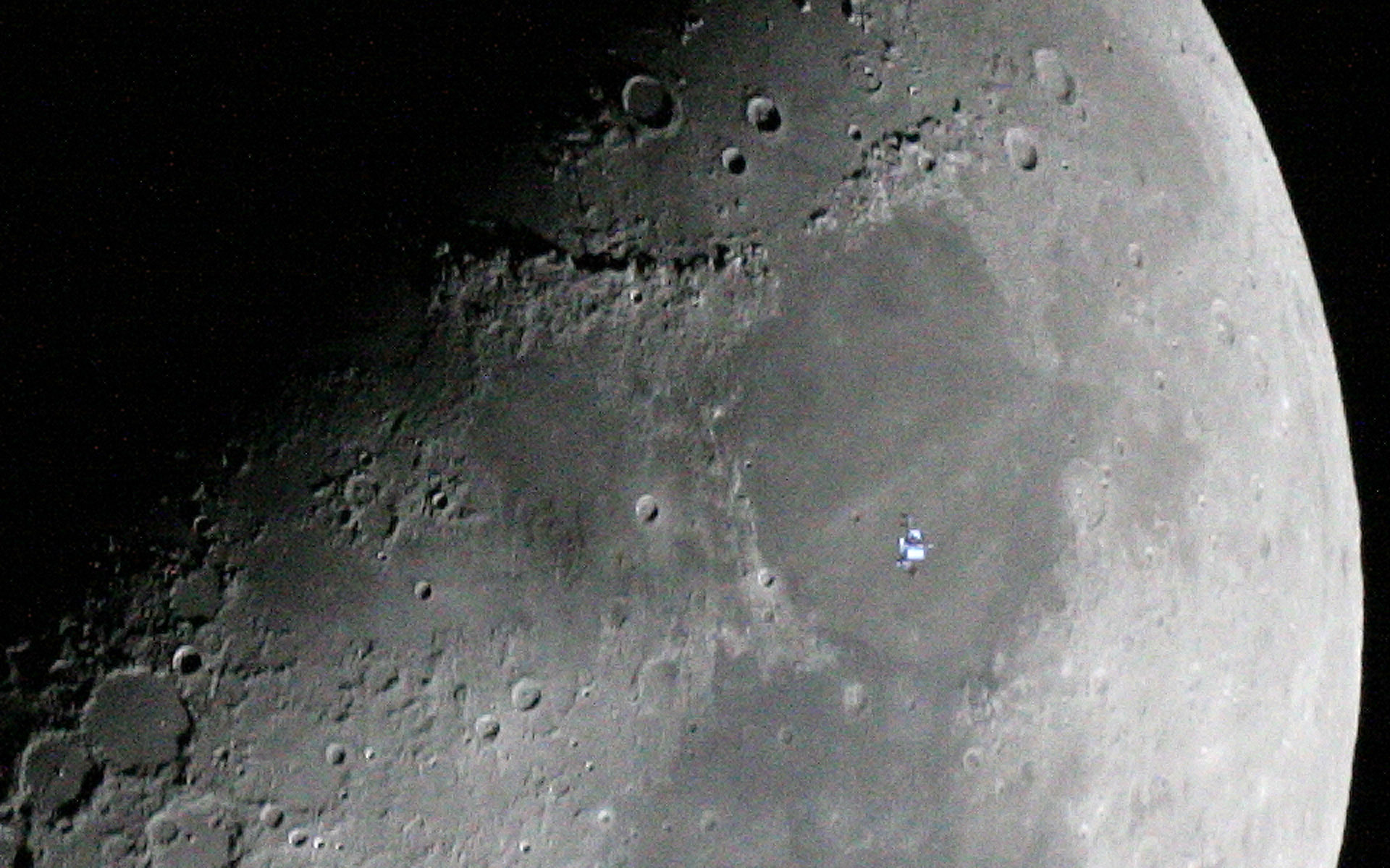 space station lunar transit - photo #26