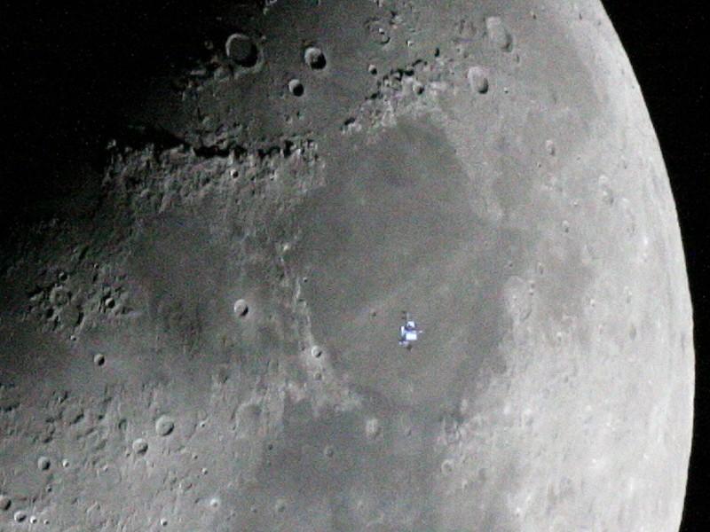 La Estación Espacial en la Luna
