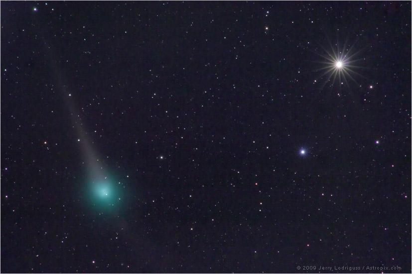 Lulin y Saturno cerca de la oposición