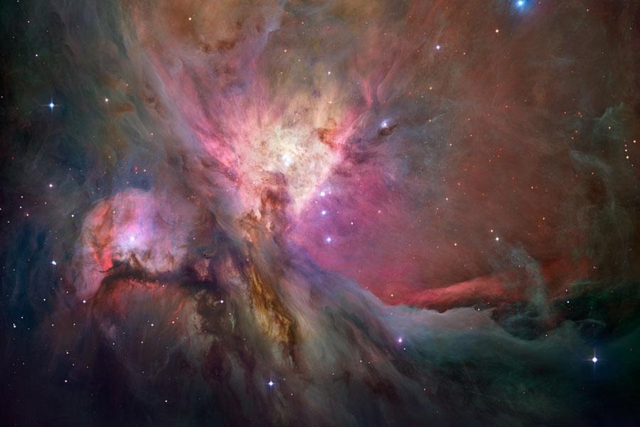 Nebulosa de Orión: la vista del Hubble
