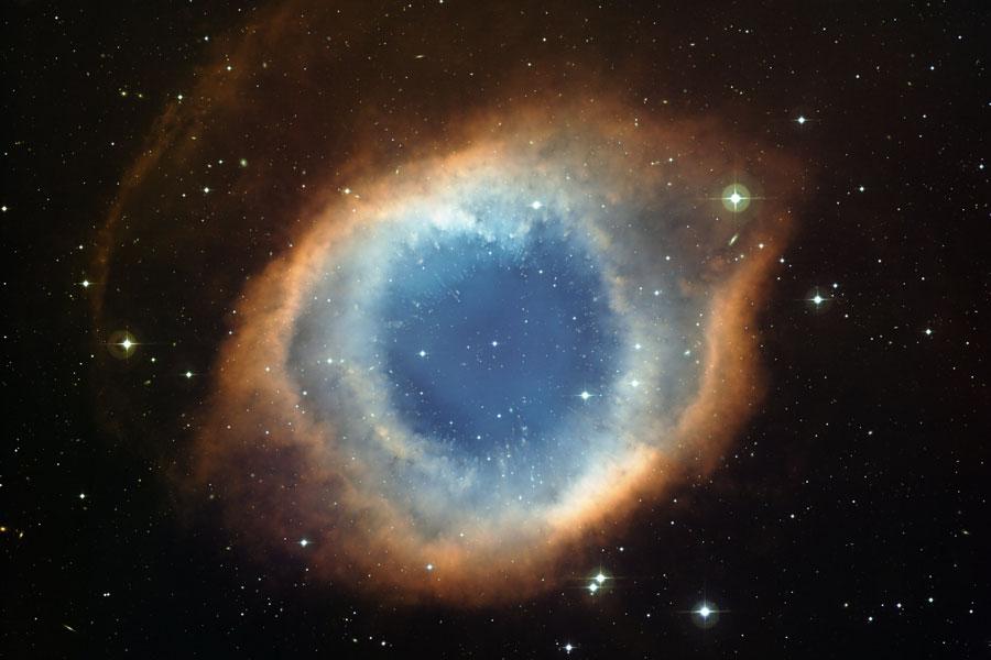 La Nebulosa de la Hélice desde el Observatorio de La Silla