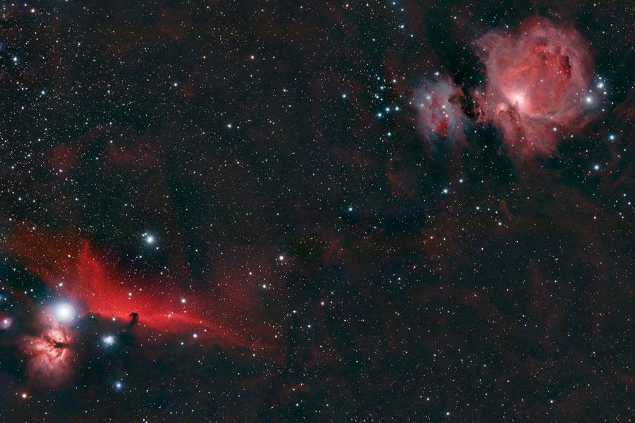 Cabeza de Caballo y Nebulosa de Orión
