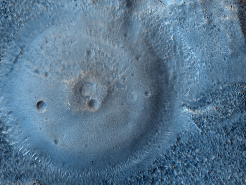 Posibles Volcanes de Lodo en Marte