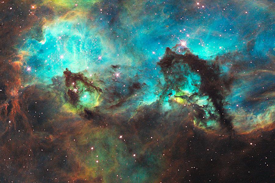 El Hipocampo de la Gran Nube de Magallanes