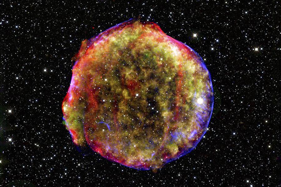 El Remanente de la Supernova de Tycho